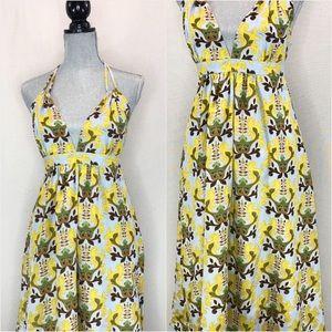 T-Bags Dresses - T-Bags silk blend maxi dress